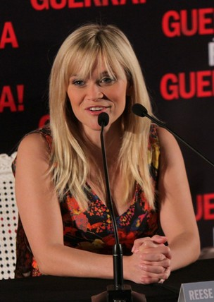 Reese Witherspoon na coletiva (Foto: Roberto Filho / Ag. News)