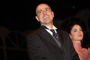 Reynaldo Gianecchini na peça 'Cruel' (Foto: Iwi Onodera / EGO)