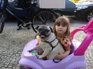 Maria Luiza, filha de Luiza Valdetaro (Foto: Bloglog/Reprodução)