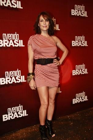 Festa de lançamento da novela Avenida Brasil (Foto: Isac Luz / EGO)