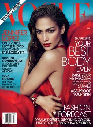 Jennifer Lopez na 'Vogue' (Foto: Reprodução)
