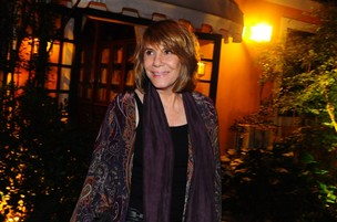 Renata Sorrah na festa de encerramento de 'Fina Estampa' (Foto: Roberto Teixeira/EGO)