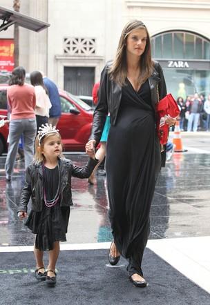 Alessandra Ambrosio  e Anja (Foto: X17)