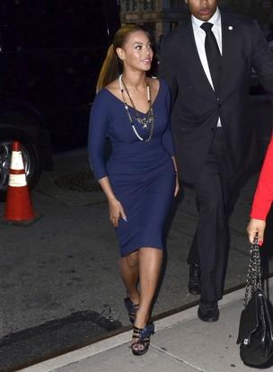 Beyoncé exibe corpão pós-gravidez em evento de Michelle Obama (Foto: Getty Images)