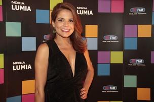 Nívea Stelmann em evento no Rio (Foto: Isac Luz/ EGO)