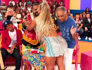 Valesca Popozuda e Gilberto Gil (Foto: Twitter/Reprodução)