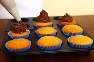 Receita de pascoa da Cacau - cupcake (Foto: Iwi Onodera/EGO)