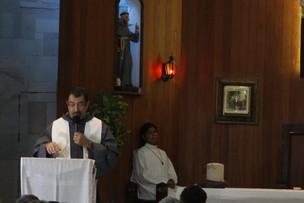 Missa de sétimo dia da morte de Chico Anysio (Foto: Philippe Lima / AgNews)