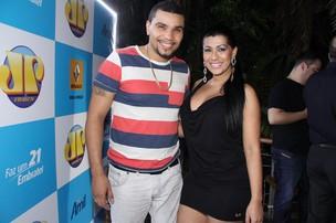 Naldo e Moranguinho em show no Rio (Foto: Thyago Andrade/ Photo Rio News)