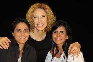 Thammy e Gretchen participam do programa Marília Gabriela (Foto: Carol Soares/Divulgação)