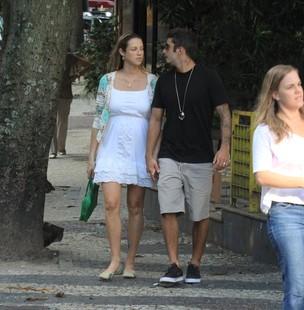 Luana Piovani e marido (Foto: Rodrigo dos Anjos / AgNews)