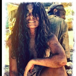 Juliana Paes posta foto como Gabriela (Foto: Twitter/Reprodução)