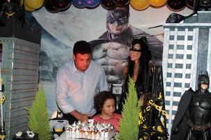 Ronaldo na festa de aniversário de 7 anos do filho Alex (Foto: Orlando Oliveira/ Ag.News)