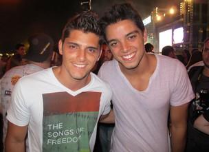 Bruno Gissoni e Rodrigo Simas (Foto: Felipe Abílio/Ego)