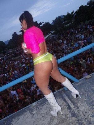 Andressa Soares, a Mulher Melancia (Foto: Reprodução / Twitter)
