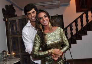 Nicole Bahls e  Victor Ramos (Foto: Roberto Teixeira / EGO)