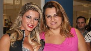 Babi Rossi e a mãe Margarete (Foto: Reprodução/Reprodução)