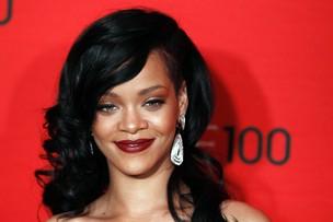 Rihanna vai a evento de gala da revista 'Time' em Nova York, nos Estados Unidos (Foto: Reuters/ Agência)