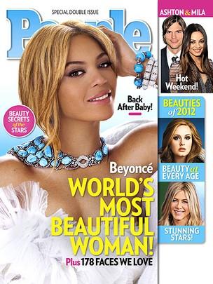 Beyoncé na capa da revista 'People' (Foto: Reprodução)