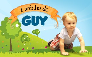 1 aninho do Guy (Foto: Ego)