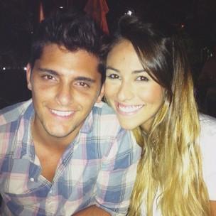 Bruno Gissoni e Stephanie Marques (Foto: Reprodução/Twitter)