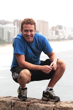 Sérgio Hondjakoff, o Cabeção de 'Malhação' (Foto: Isac Luz/EGO)