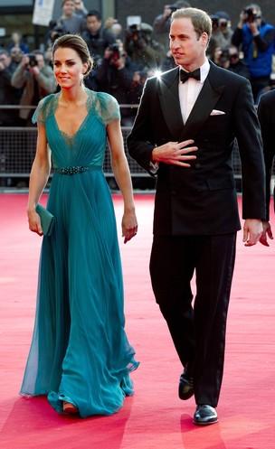 Príncipe William e Kate Middleton em evento pré-olimpíco (Foto: Reuters / Agência)