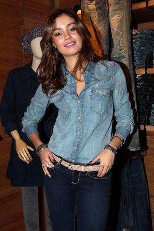Sophie Charlotte em evento de jeans em São Paulo (Foto: Photo Rio News/ Manuela Scarpa)