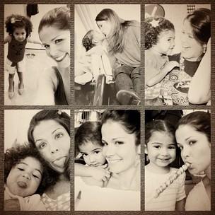 Samara Felippo e a filha Alicia (Foto: Reprodução/Twitter)
