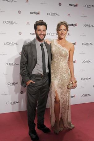 Bruno Gagliasso e Giovanna Ewbank no Prêmio Contigo (Foto: Isac luz / EGO)