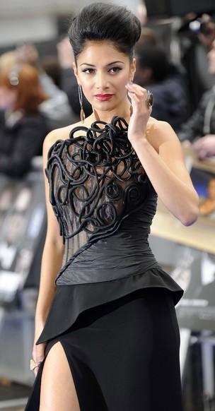 "Nicole Scherzinger na première de 'MIB III"" (Foto: Reuters)"