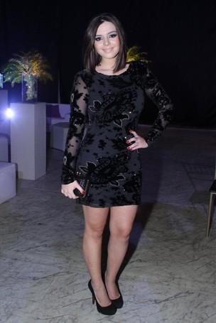 Giovanna Lancellotti no prêmio Qualidade Brasil 2012 em casa de shows na Barra da Tijuca, Zona Oeste do Rio (Foto: Thyago Andrade/ Photo Rio News)