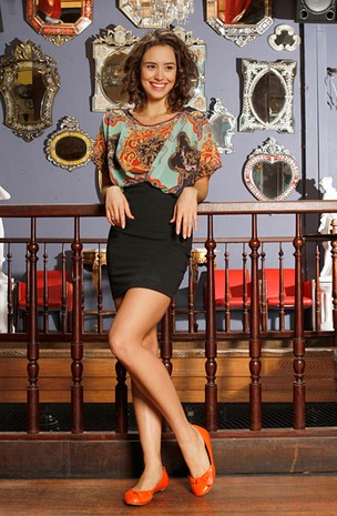 Amanda Richter posa para o EGO (Foto: Isac Luz/EGO)
