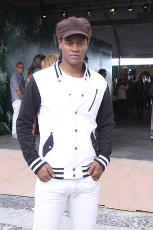 Tony Garrido no Fashion Rio (Foto: Thyago Andrade / Photo Rio News)
