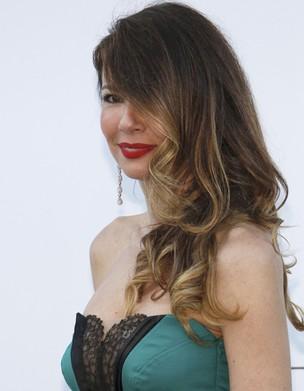 Luciana Gimenez no baile amfAR (Foto: Reuters)
