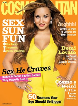 Demi Lovato é capa da Cosmopolitan de julho (Foto: Cosmopolitan)