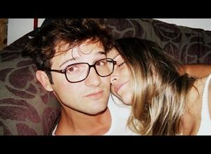 O romance dos ex-BBBs Flavia Viana e Fernando Justin (Foto: Arquivo Pessoal)