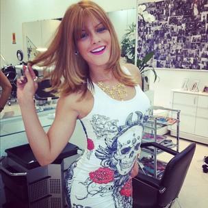Babi Rossi posta foto com peruca ruiva (Foto: Instagram / Reprodução)