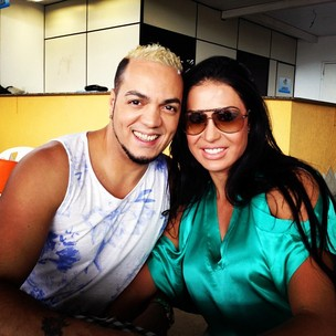 Belo e Gracyanne Barbosa (Foto: Reprodu&#231;&#227;o/Twitter)