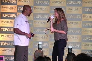 MV Bill e Gisele Bündchen no 'Top Cufa Brasil' (Foto: Thyago Andrade / Photo Rio News)
