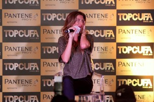 Gisele Bündchen no 'Top Cufa Brasil' (Foto: Alex Palarea e Roberto Filho / AgNews)