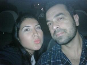 Ex-BBB Priscila e o marido (Foto: Reprodução/Twitter)