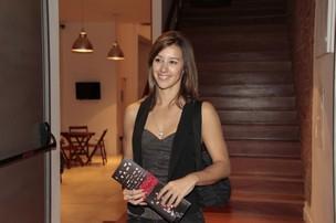 Cristiane Dias na pré-estreia da peça 'Dorotéia' (Foto: Isac luz / EGO)