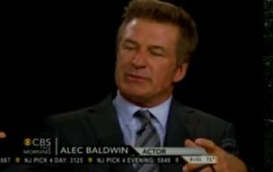 Alec Baldwin explica briga em programa de TV (Foto: Reprodução)