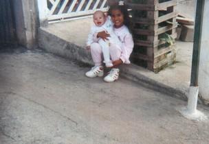 Stefhany Absoluta e irmã Ary Loba (Foto: Divulgação)