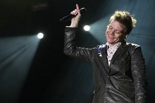 Michel Teló se apresenta no Pop Music Festival, em São Paulo (Foto: Manuela Scarpa / Foto Rio News)