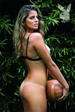 Mari Paraíba em ensaio para a Playboy (Foto: Playboy / Divulgação)