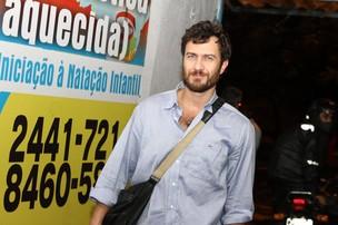 Gabriel Braga Nunes em festa no Rio (Foto: Marcello Sá Barretto/ Foto Rio News)
