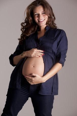 Bianca Castanho grávida (Foto: Derli Soares Jr / Divulgação)