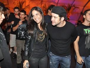 Murilo Benício com a namorada, Andrea de Souza Dantas (Foto: Roberto Teixeira / AgNews)